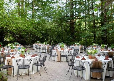 Dining Patio at the Main Lodge