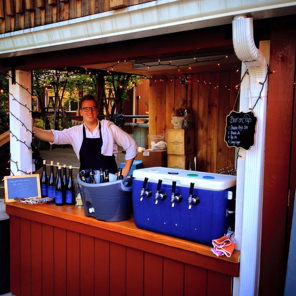The Viking Bar - Our FAVORITE bartender, Trygve Blixt!