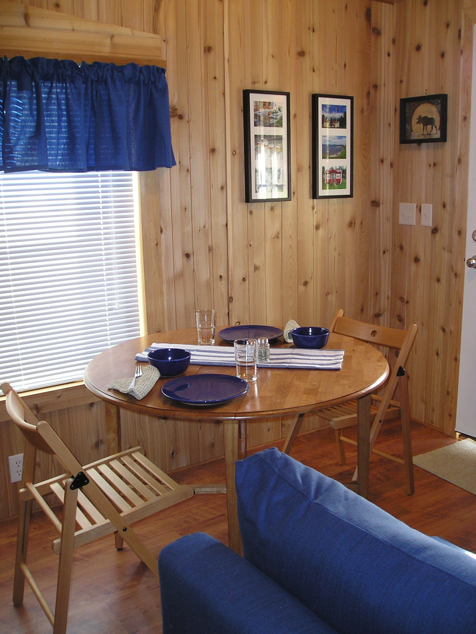 Dining area of Cabin