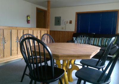 Hilltop Upstairs table and futon