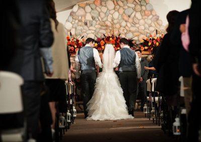 Fall weddings are very popular!